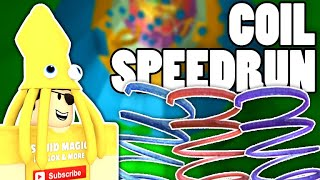 21 SECONDS!! Coil Speedruns (INSANE) | Tower of Hell ROBLOX