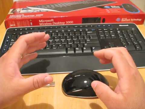 Microsoft Wireless Desktop 3000 Followup Youtube