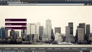 Crea tu pagina de inicio con HTML para tu navegador favorito