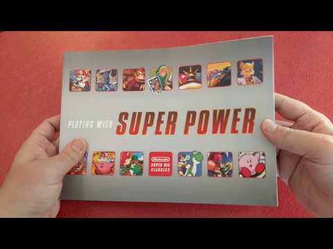 Playing with Super Power SNES Book - Page by Page