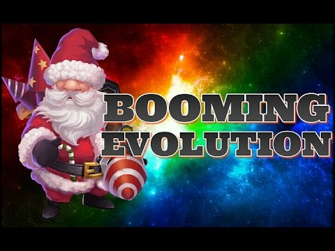 Castle Clash Evolving Santa Boom!