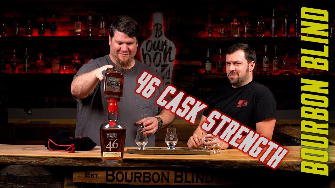 Download Makers Mark 46 CASK STRENGTH Bourbon BLIND Review