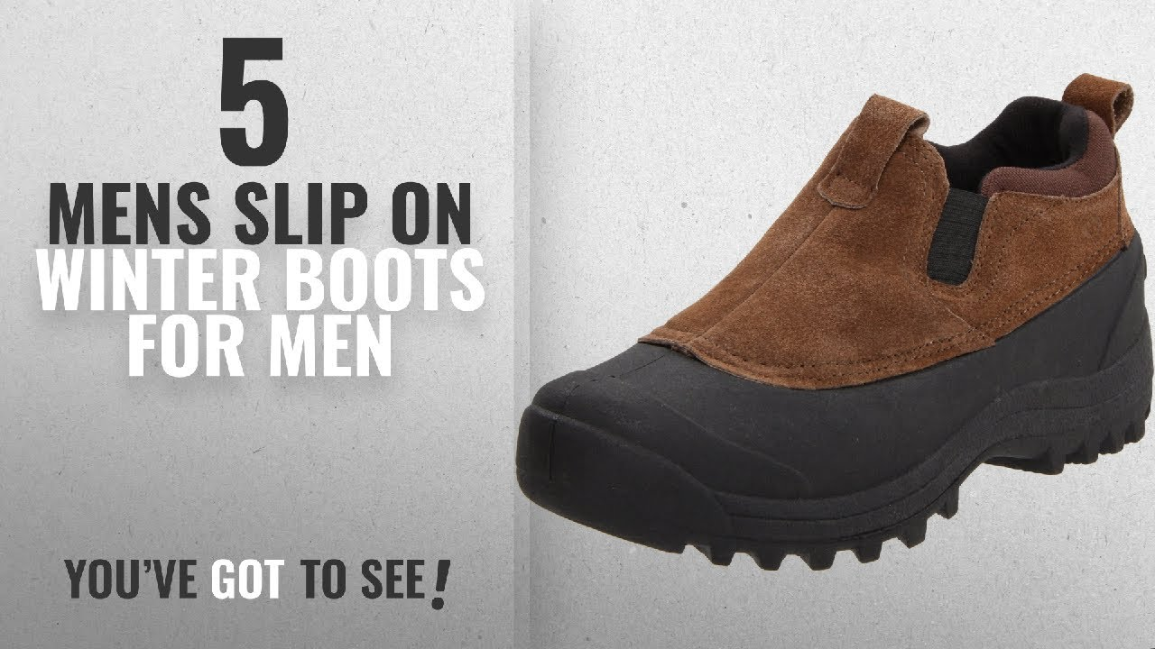4cb2c866a4f Top 10 Mens Slip On Winter Boots [ Winter 2018 ]: Northside Men's Dawson  Winter Shoe,Camel,11 M US
