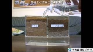 トース土工法(透水性土系保水型舗装)とは
