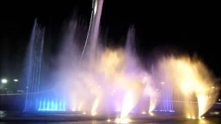 Шоу фонтанов. Олимпийский парк - Сочи 2015