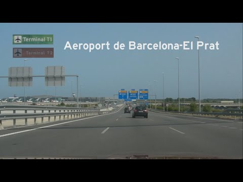 [E] Barcelona motorway tour, #3: The Airport