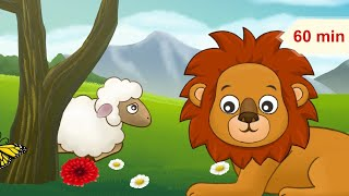 Sleepy Animals and Relaxing Music for Children | Music for Kids & Babies