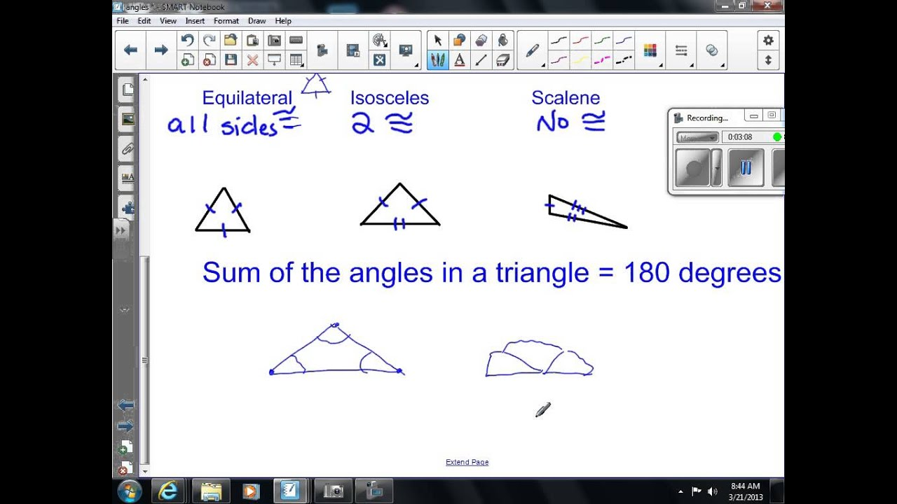 Triangles 7th Grade Math