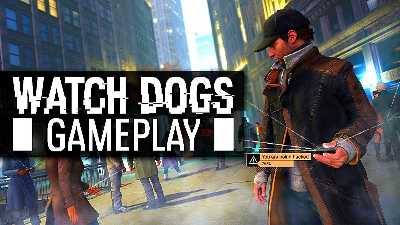 Watch Dogs Free Roam Gameplay
