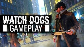 WATCH DOGS GAMEPLAY & Free Roam - (Watchdogs PS4 1080p Single Player)