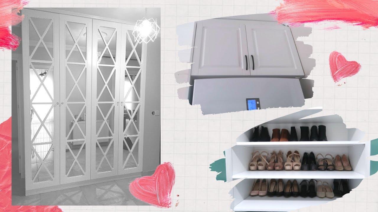 Gri Lake Akrilik İtalyan Mutfağı   mutfak dolabı    2020 2021 GRİ mutfak modelleri  gizli kulp  