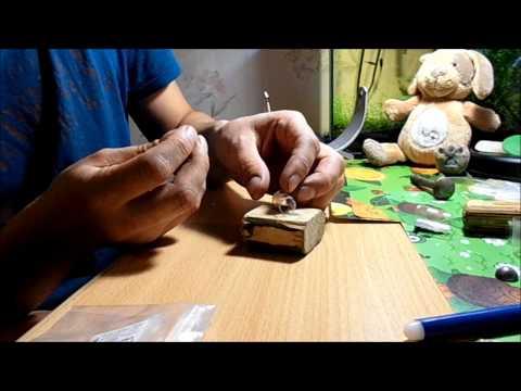 Cмотреть онлайн Простой способ  изготовления фидерных кормушек маленького размера для пикера и подлёдного фидера.