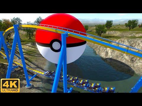 [4K 360 VR Video] Pokémon Movie Coaster Simulator for Google Cardboard 360° 3D SBS Detective Pikachu