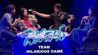 Devadas Movie Team Hilarious Game |