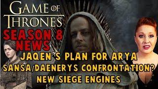 Game of Thrones S8 News: Jaqen's Plan for Arya, New Castle, Daenerys & Sansa