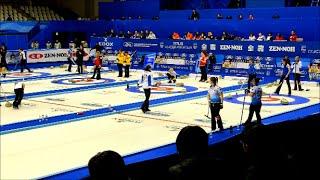 ♛✔ 世界女子カーリング軍団様 ナイトオブナイツでカーリングしてみた。World Women's Curling Championship 2015 カーリング世界選手権