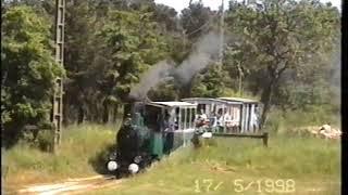 Train à vapeur du Lac de Rillé en Tourraine (Indre et Loire) : 17 mai 1998