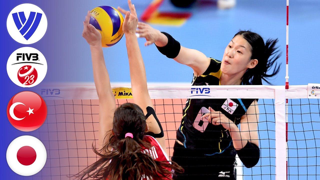 Turkey vs. Japan - Full Match | Semifinal | U23 Women's Volleyball World Championship 2015