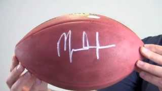 Mark Ingram Autographed Football - JSA