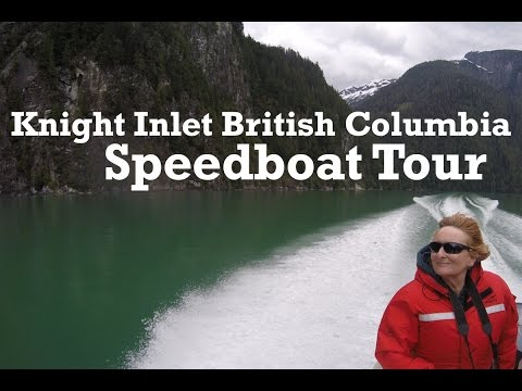 Knight Inlet Speedboat Tour (British Columbia, Canada)