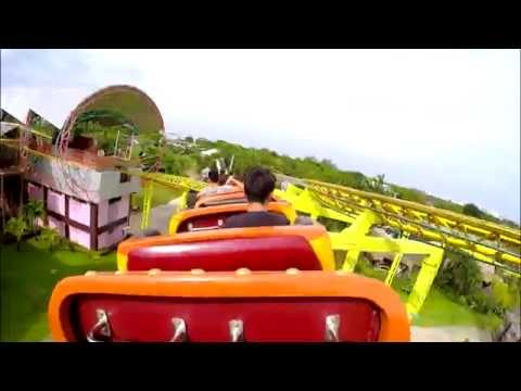 Grand Canyon Express [Zamperla-Super Express] Siam Park City, Thailand 2.7K HD