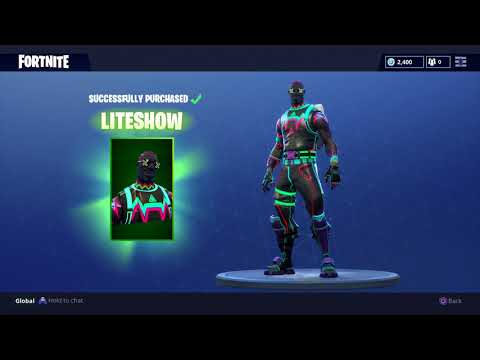 THEY MADE ME A DEDICATED SKIN IN FORTNITE (LITESHOW) 😂
