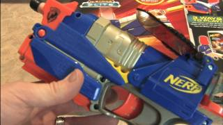 Classic Game Room HD - NERF SWITCH SHOT EX3 Wii Blaster