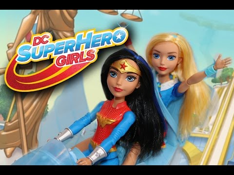 DC Super Hero Girls Wonder Woman Action Doll and Invisible Jet Review