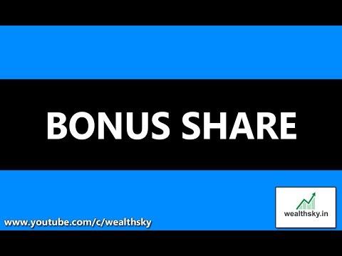 Bonus Shares Meaning in hindi (Stock Market)