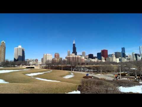 Chicago Skyline & Museum Campus