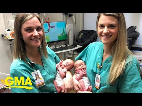 Kramer In The Morning - NBD, just twin nurses delivering twin babies :)