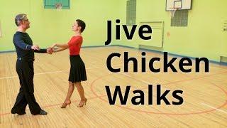 Jive Intermediate Dance Routine with Chicken Walks