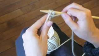 comment tricoter en jersey envers