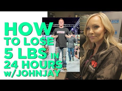 In-Studio Videos - Johnjay Lost 5 Pounds in 24 Hours...