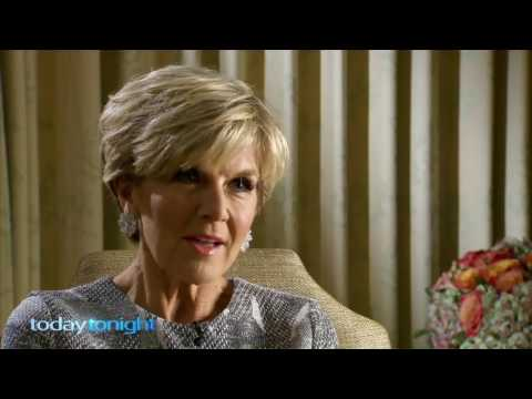 Nelson Aspen's 1:1 with Australia's Foreign Minister, Julie Bishop.