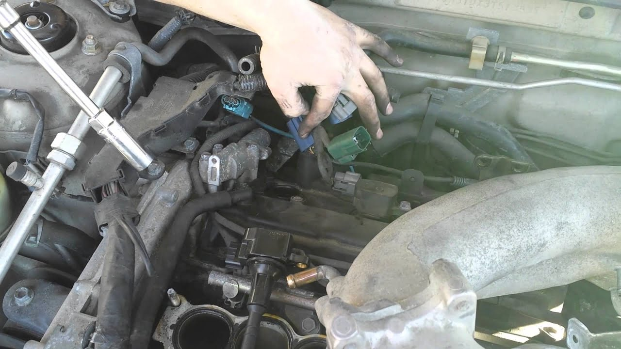 V6 Nissan Maxima Coil Pack Spark Plug Replacement
