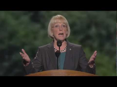 Senator Patty Murray at the 2012 Democratic National Convention