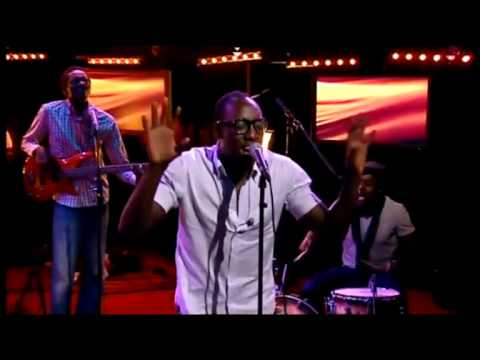 "Group of the year SAUTI SOL Live on Swedish national TV perfoming the song ""Nairobi"" with a twist..."