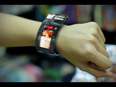 Internet Gadgets Smartphone Bracelet Smile EmoPulse Concept