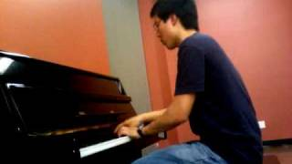 """Pirates of the Caribbean """"Up is Down"""" on piano, Max Loh"""