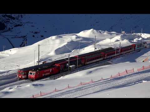 Skiarena Andermatt-Oberalp-Sedrun am 24 12