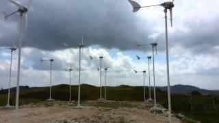 Micro Wind Turbine - Kalihi Sumba, Indonesia