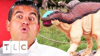Enormous Realistic Dinosaur Celebration Cake! | Cake Boss