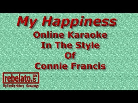 My Happiness - Connie Francis - Online...