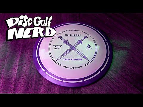 Yikun Discs Twin Swords Disc Golf Disc Review - Disc Golf Nerd