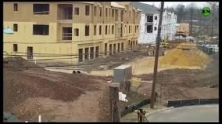 Как строят в США многоквартирные дома из фанеры