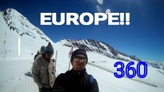 Europe 360 selfie travel video - GoPro