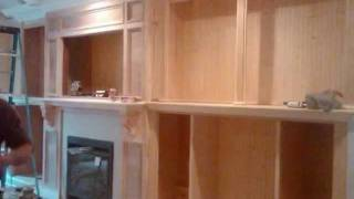 Custom Wall Unit By Creative Custom Construction