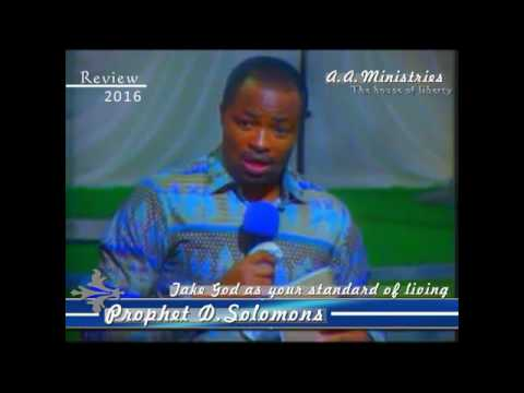 Prophecy on the South African Rand and the Economy Of South Africa by Prophet D Solomons