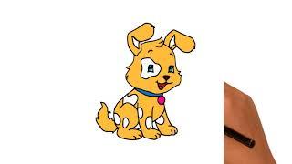 Как рисовать животные - Раскраски для детей - Обучающие дошкольные занятия